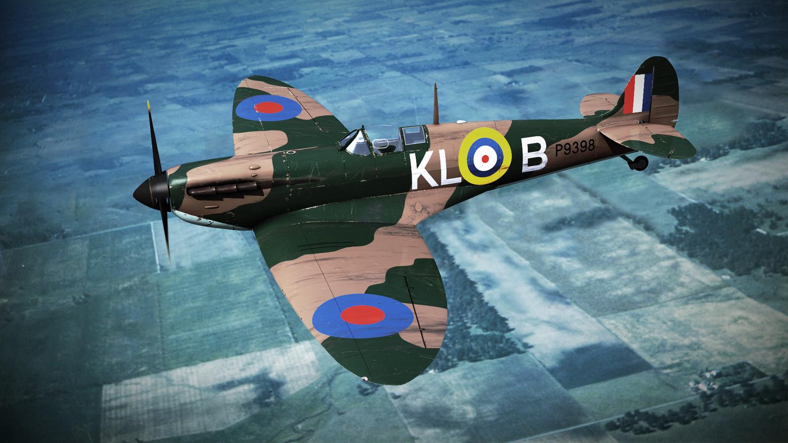 SUPERMARINE SPITFIRE MK-IA 54th Squadron