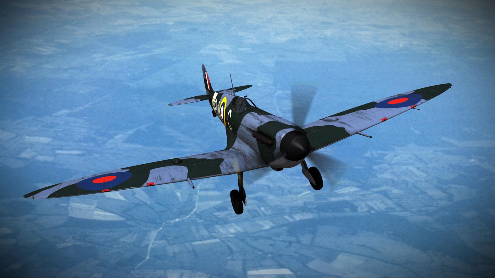 SUPERMARINE SPITFIRE MK-VB 130th Squadron