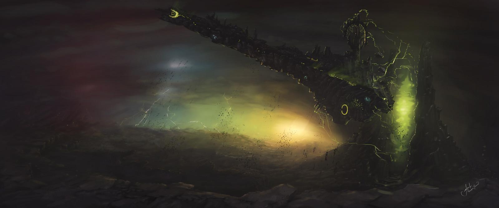 Planetary Warp-Gate