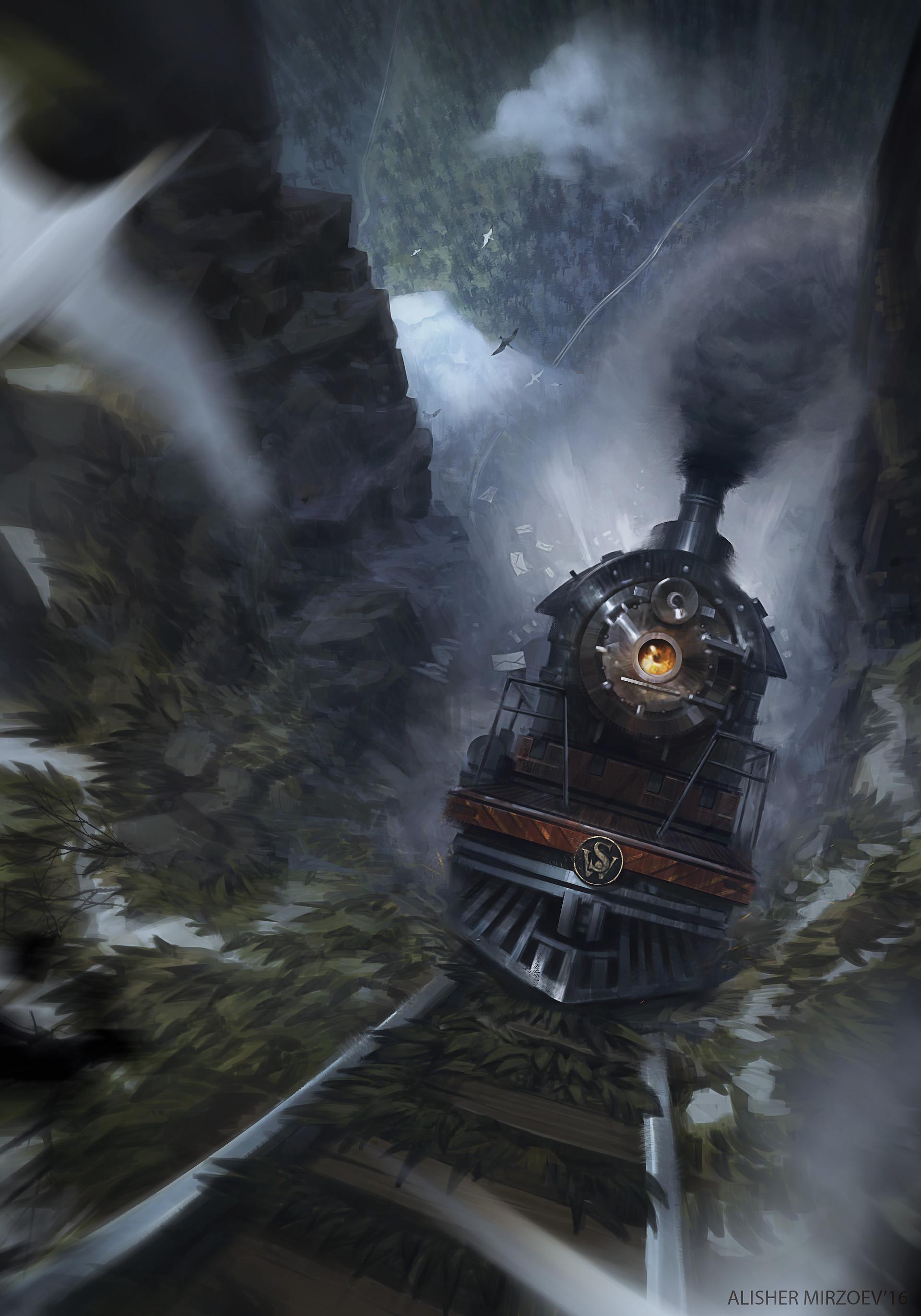 Alisher mirzoev pf train final 1