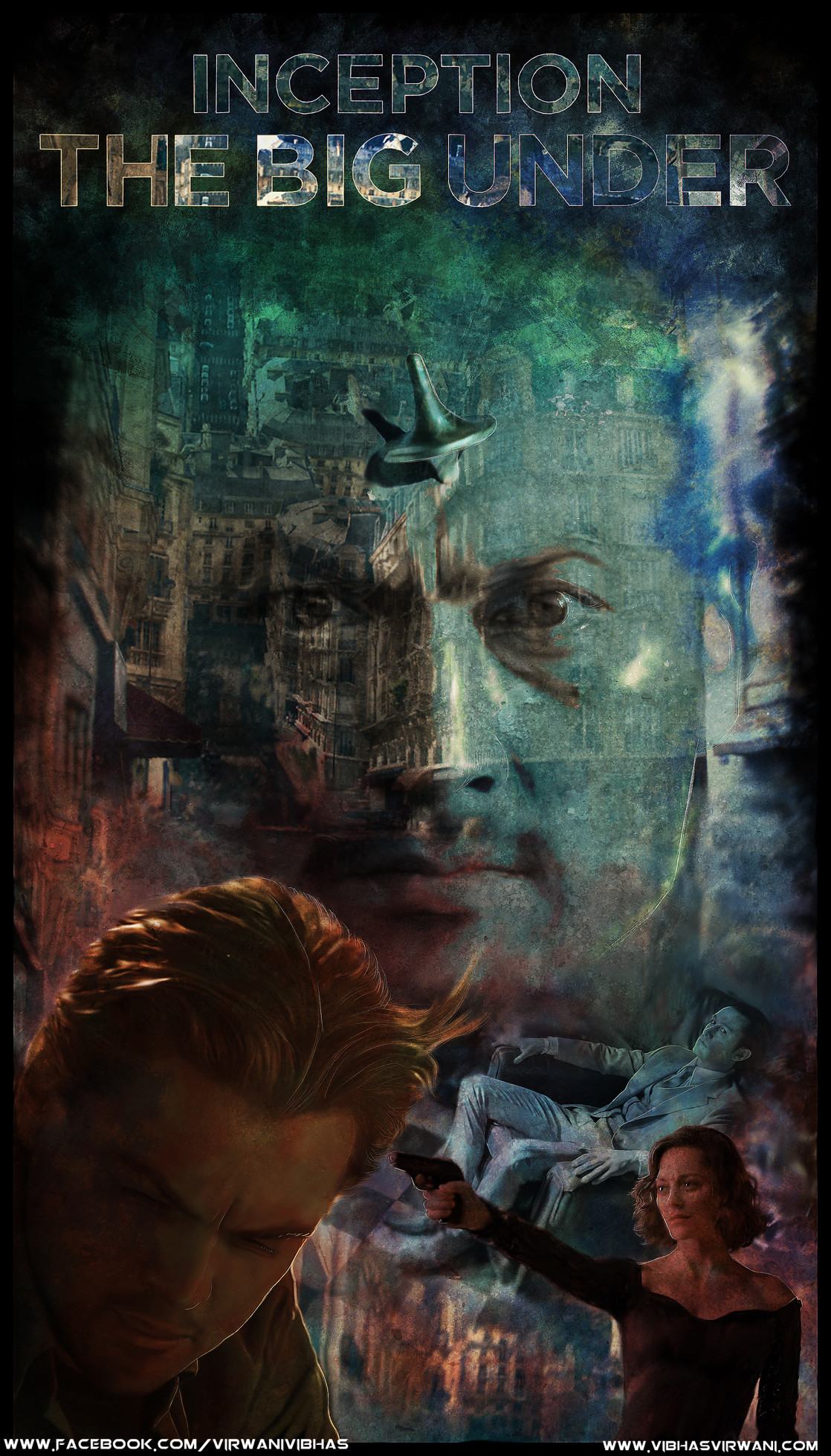 Vibhas virwani inception comic cover deviantart contest entry by vibhas virwani 2