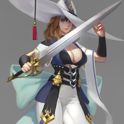 Joo elite swords girl s