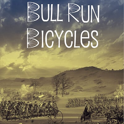 Vibhas virwani bull run bicycles promotional project by vibhas virwani