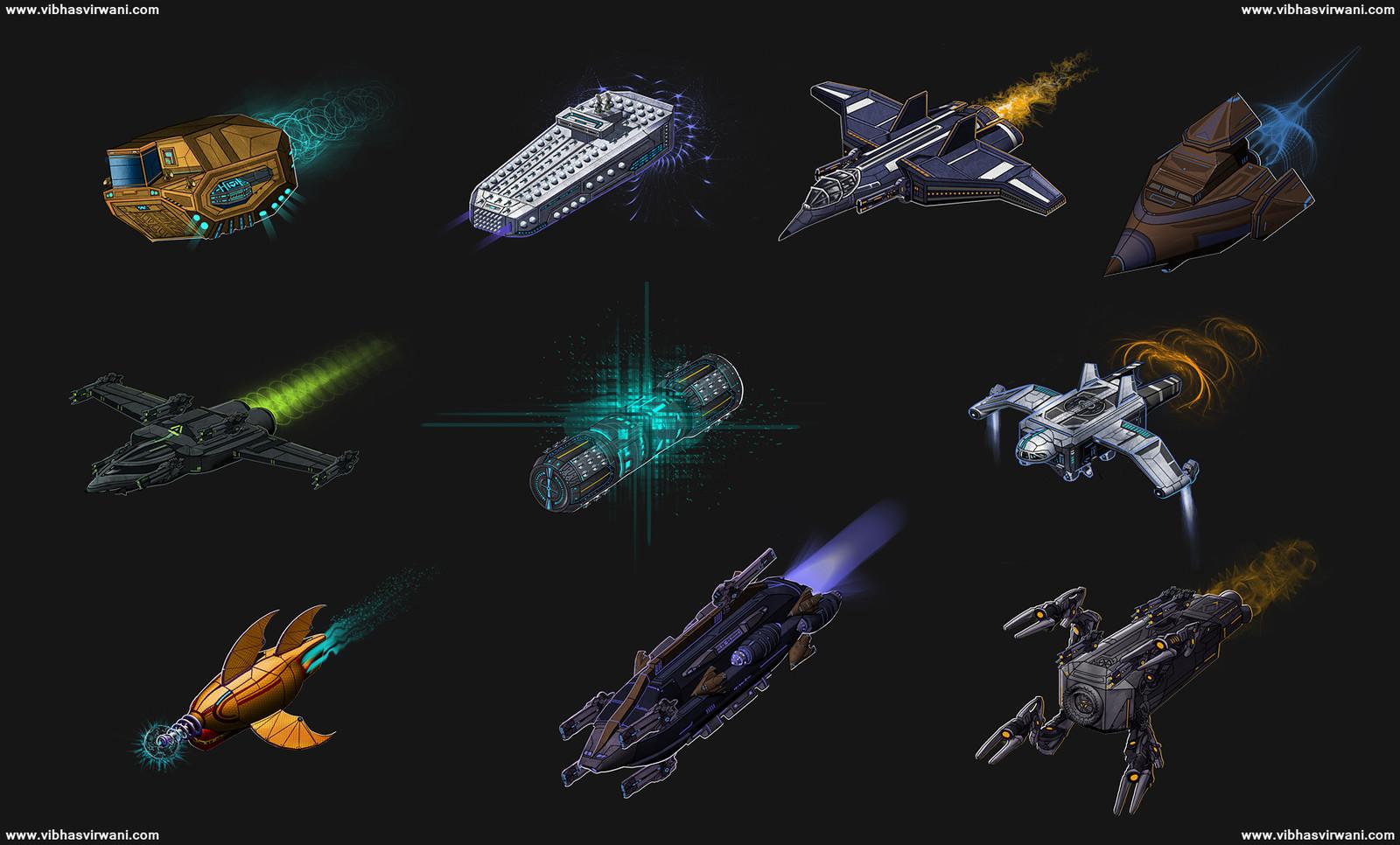 Ship lineup