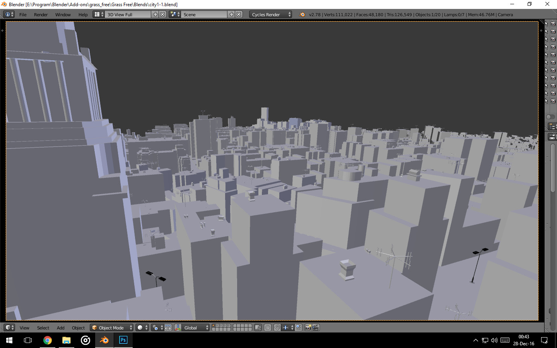 3D View Blender
