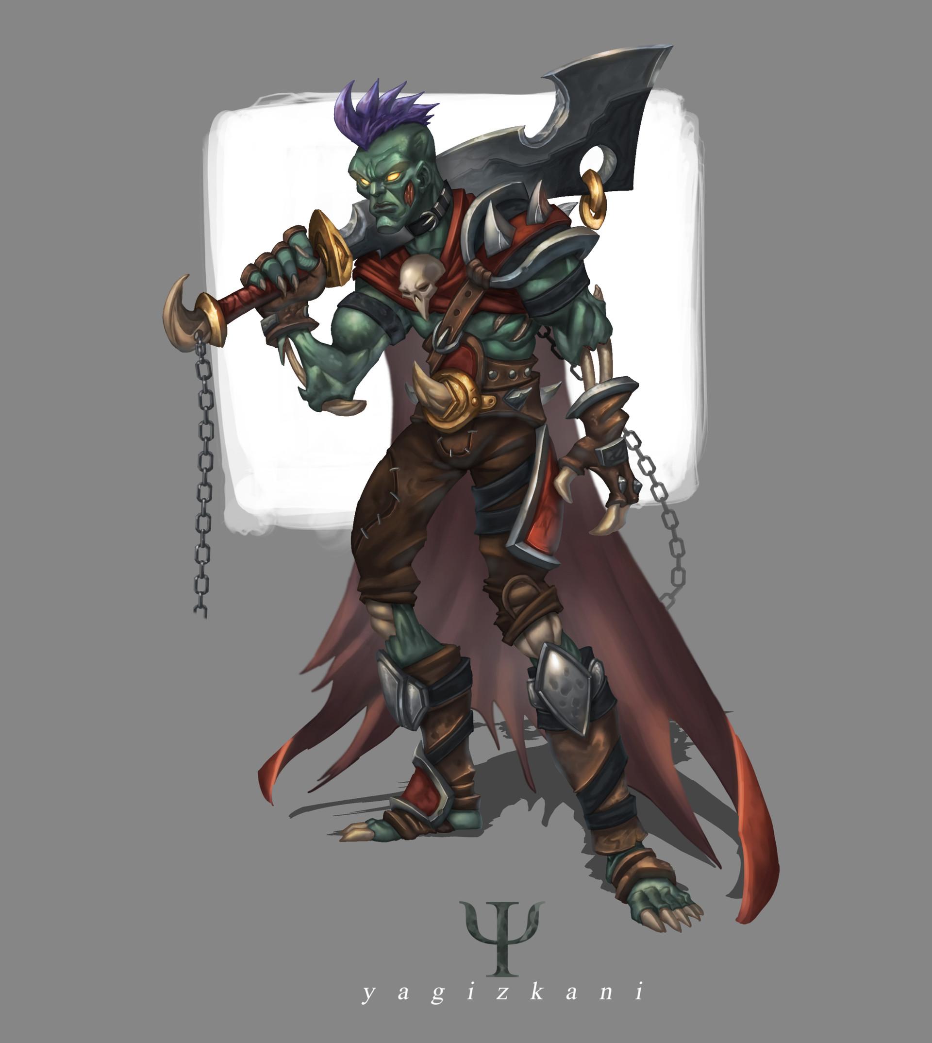 Human Warrior against the Forsaken. by MyStyleArtwork on DeviantArt