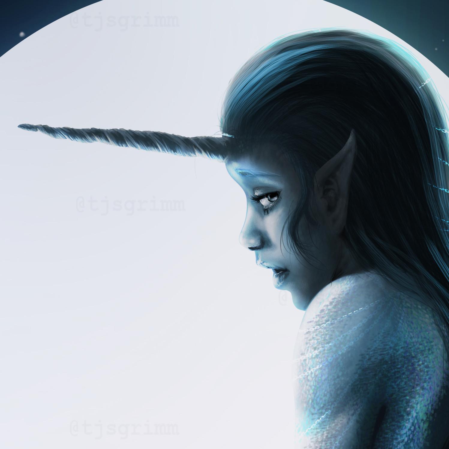 Teri grimm moonlit siren2