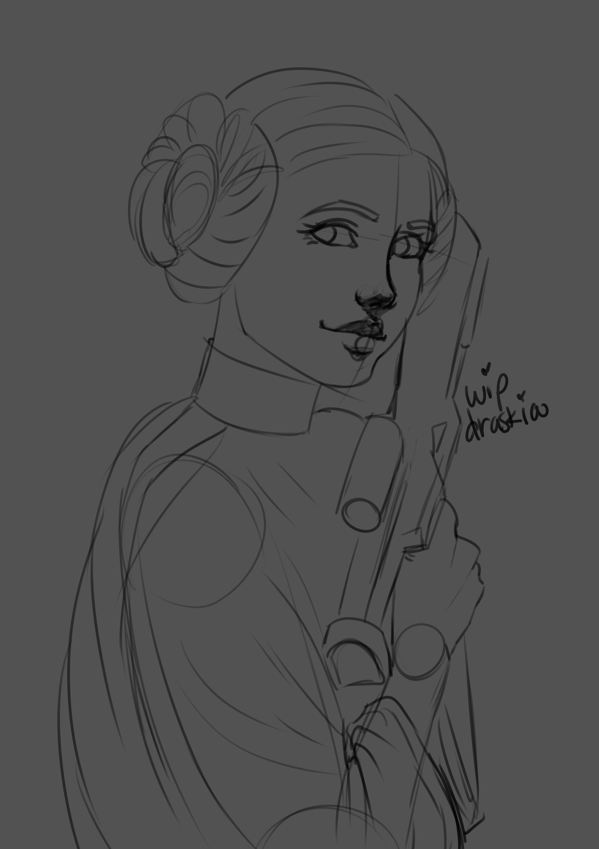 Maggie flanigan carrie fisher rough draft