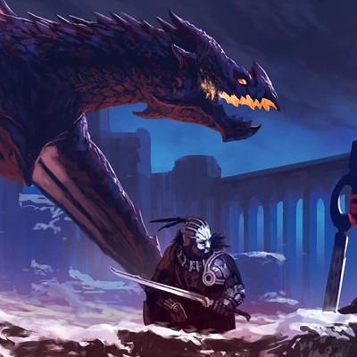Biagio d alessandro dragonslair head2