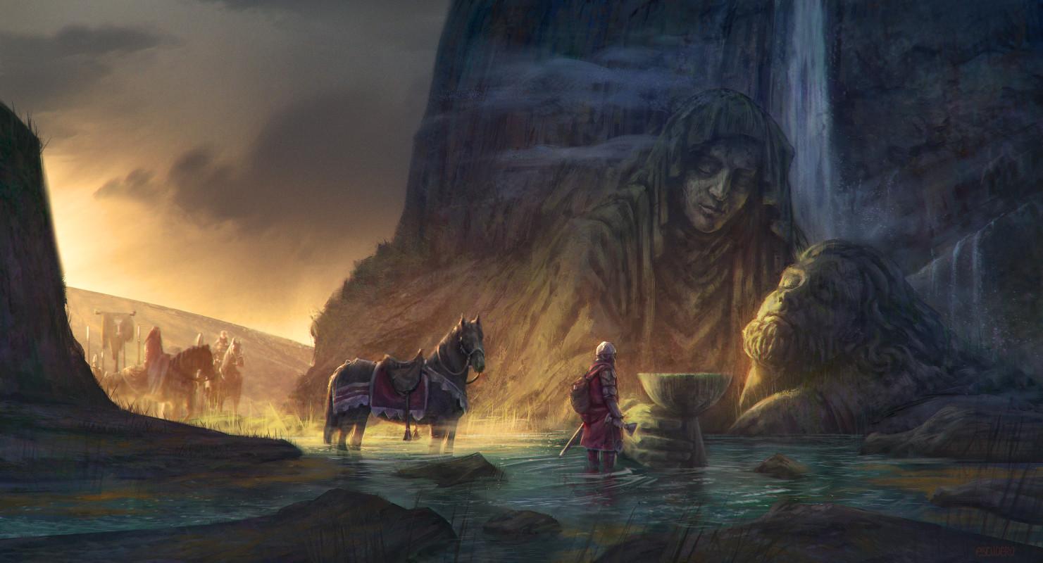 Waterfall  Pietá