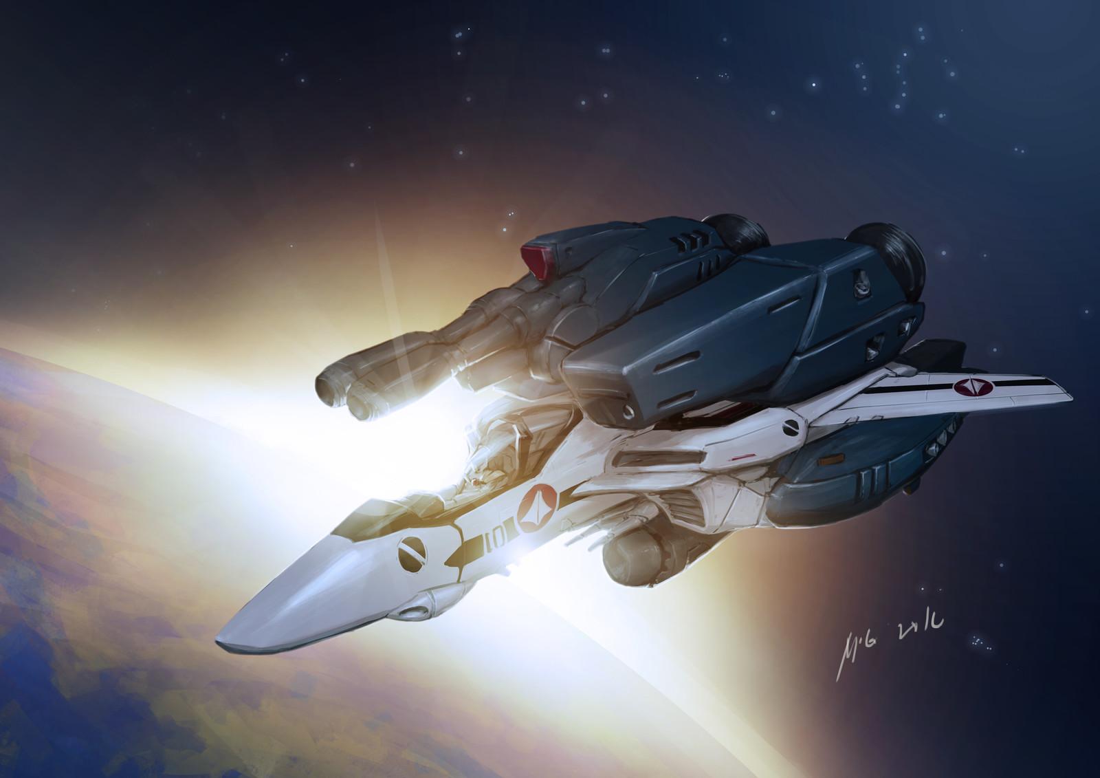 vf-1s Super Strike Valkyrie!