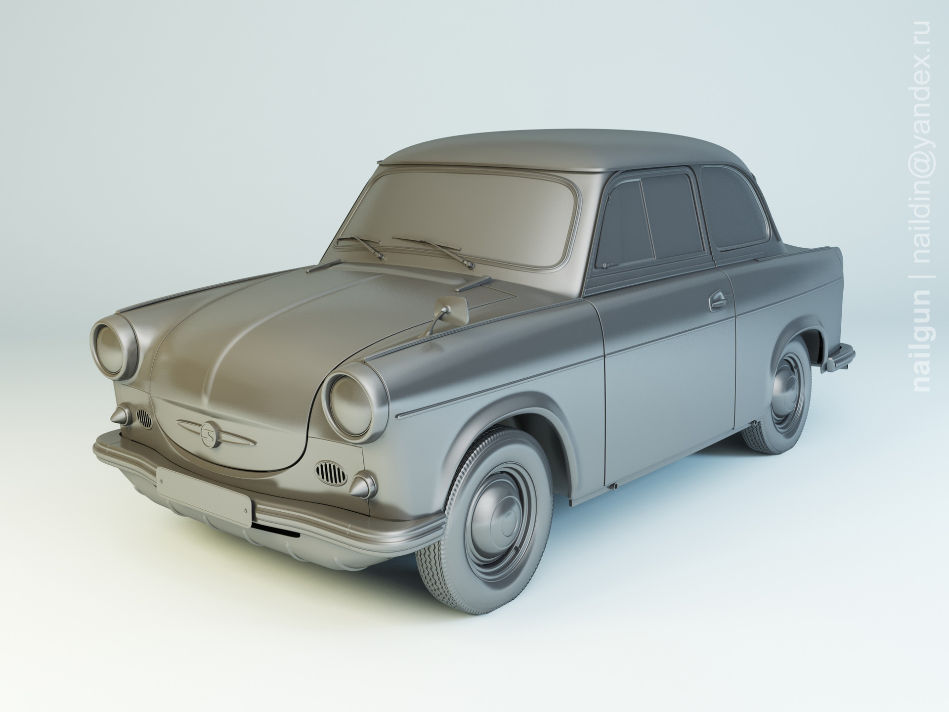 Nail khusnutdinov als 173 003 trabant p50 modelling 0