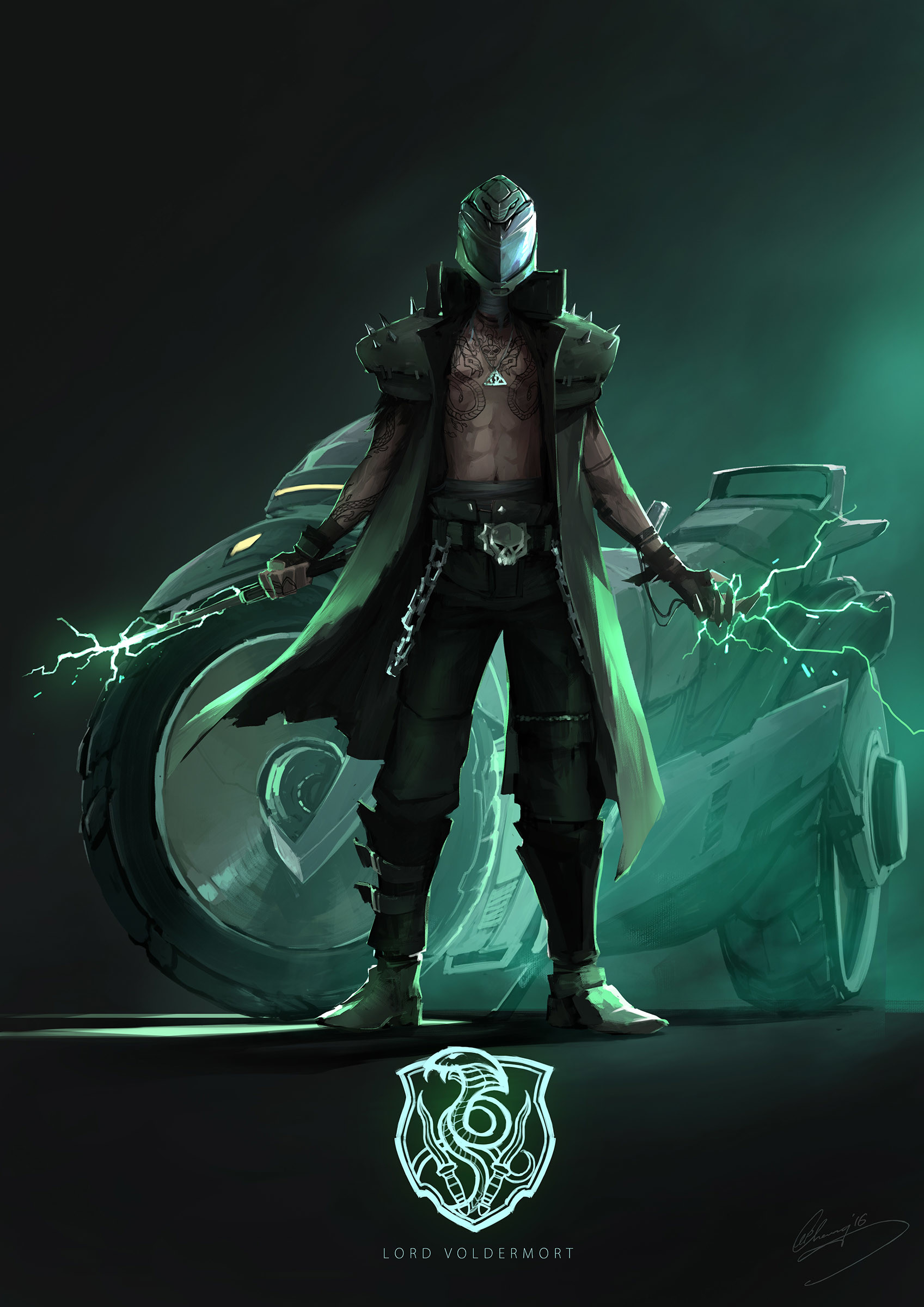 Lap pun cheung gangs of hogwarts slytherin lord voldermort online