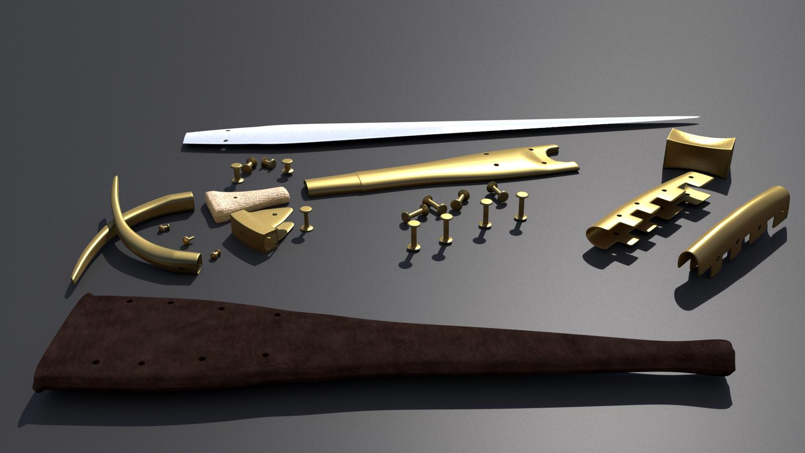alaca dagger disassembled III