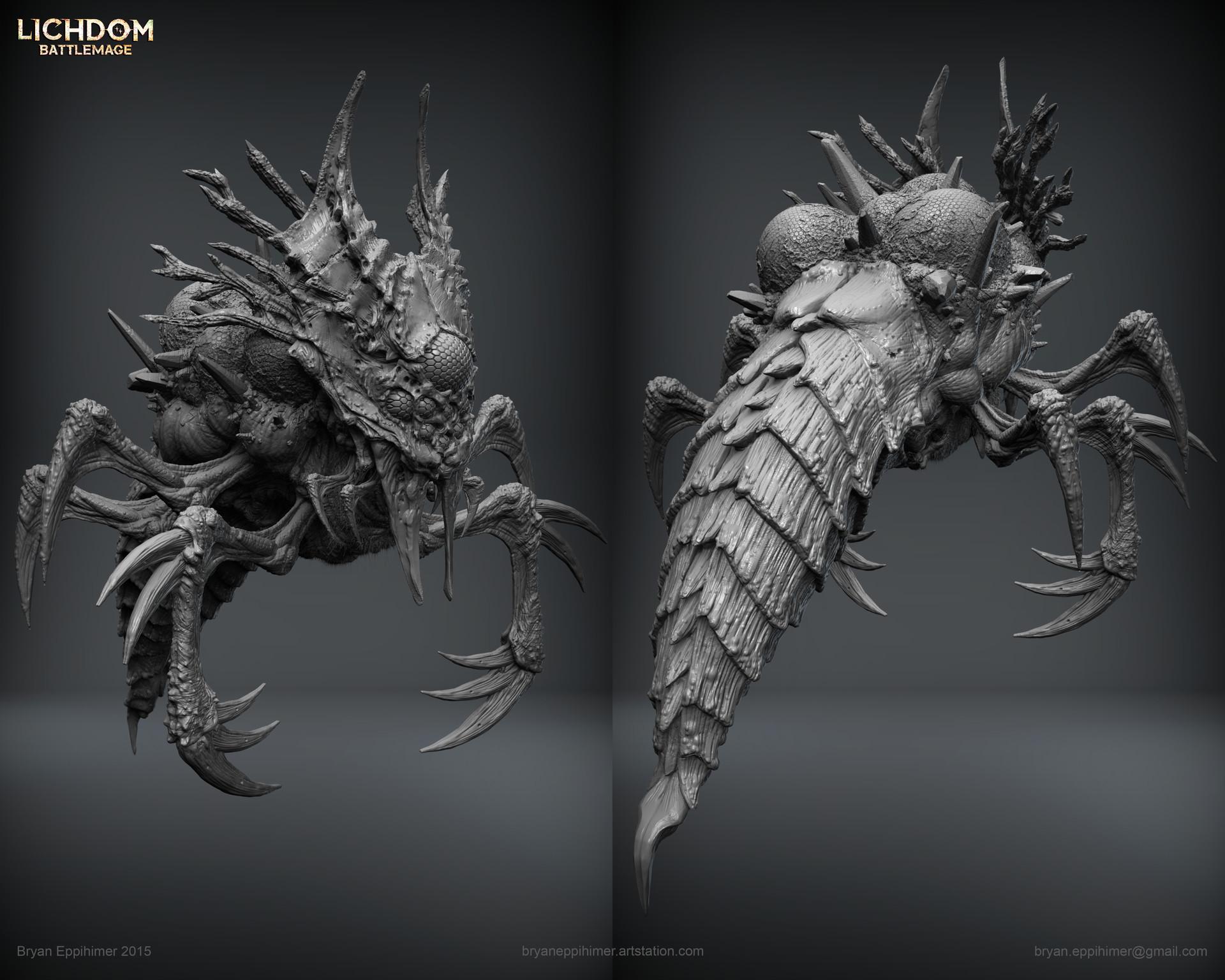 Bryan eppihimer bryaneppihimer xaviant demon insect 2015