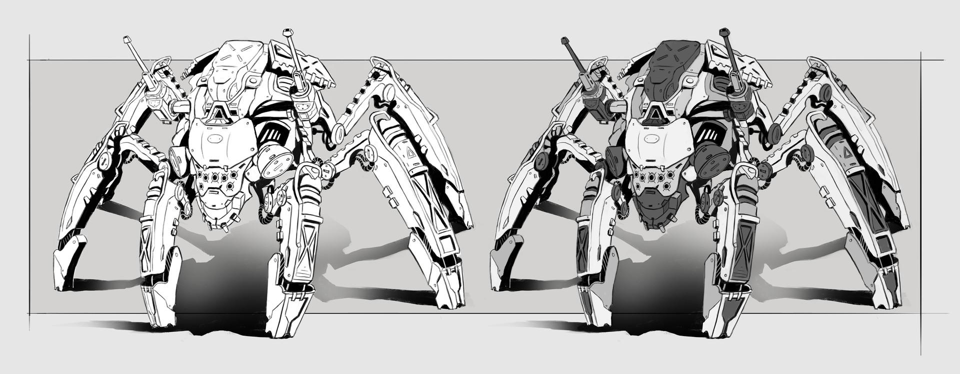 Ivan sevic feral robots elitte concept final