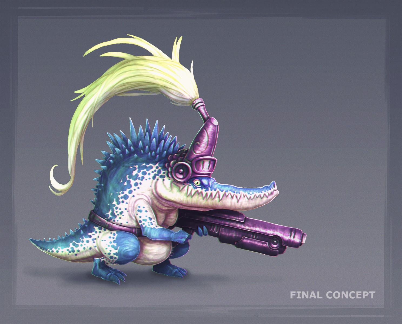 Jose samaniego final concept croc