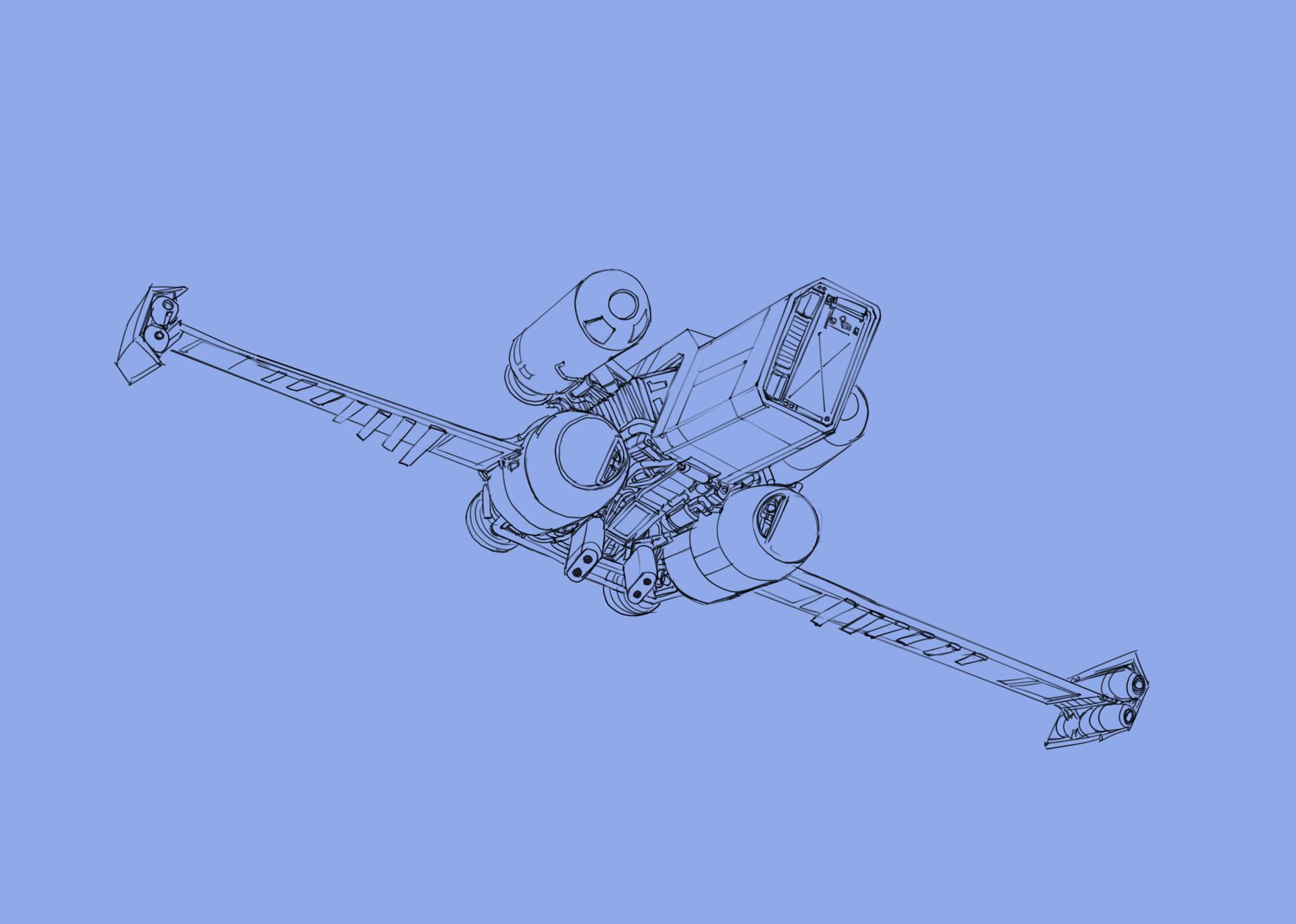 Eric geusz landing wip2