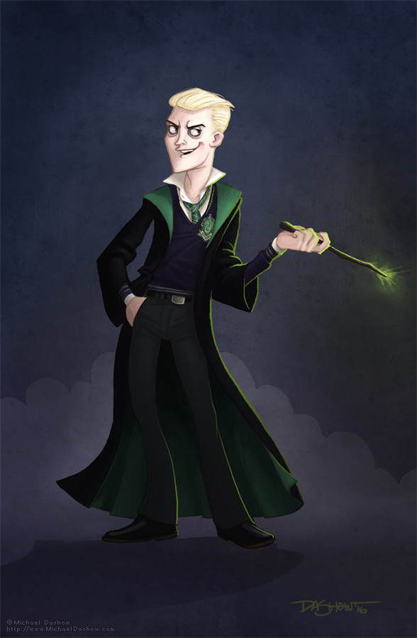 Michael dashow harry potter draco malfoy 588x900