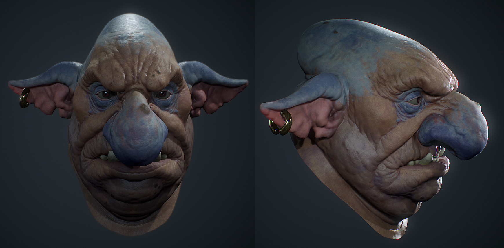 Further texturing in Substance and Marmoset Toolbag 3.