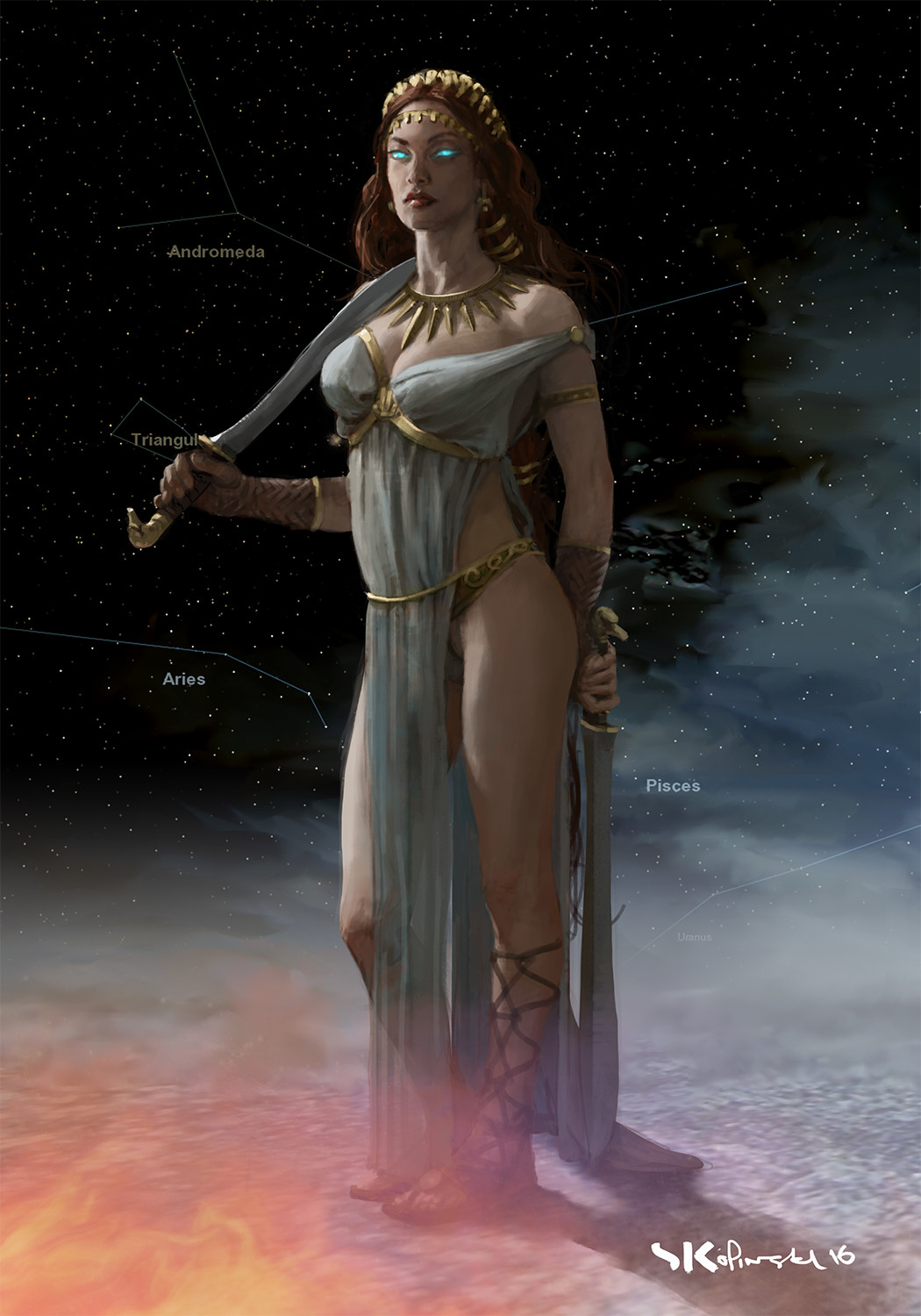 Aphrodite Concept for Mythic Battles - Pantheon.