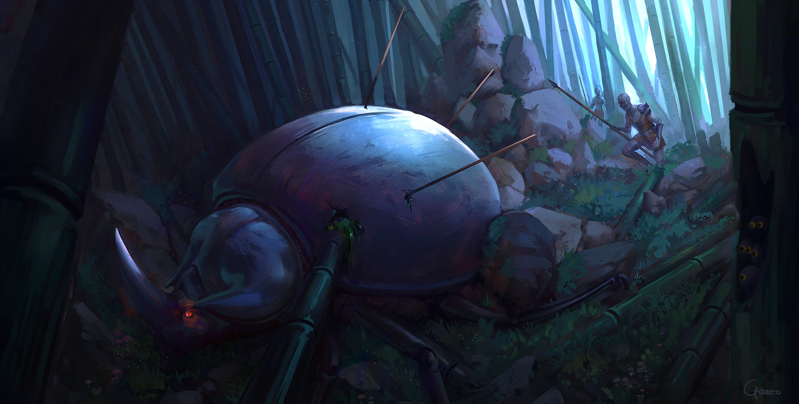 Beetle hunt