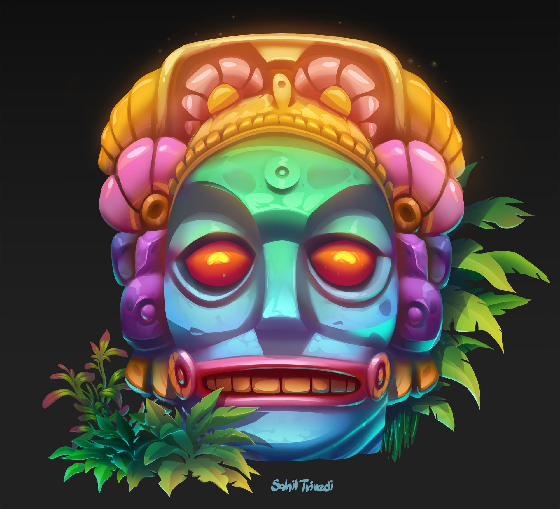 Sahil trivedi mayan sculpture6