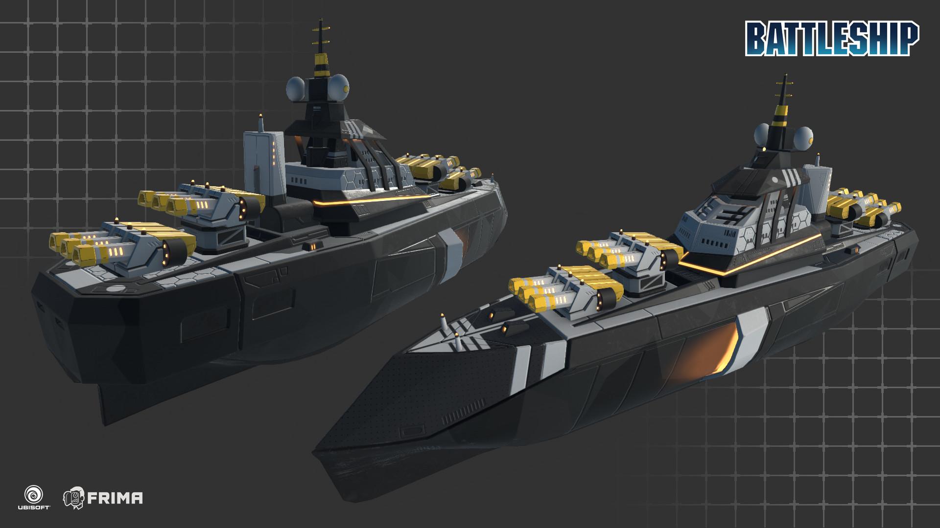 Mathieu Gosselin Battleship