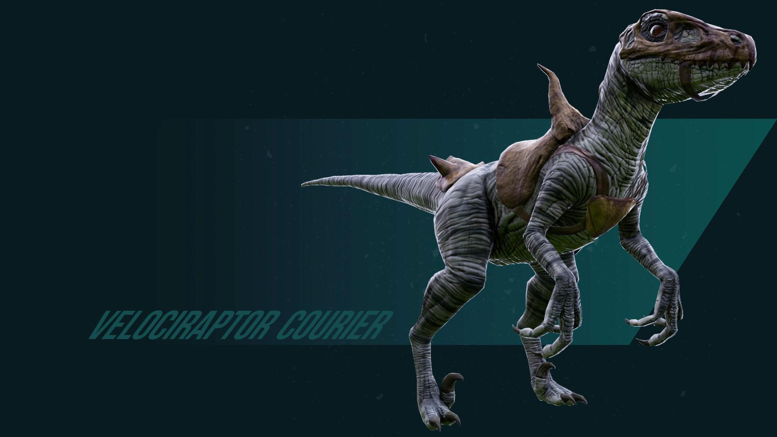 Velociraptor Courier