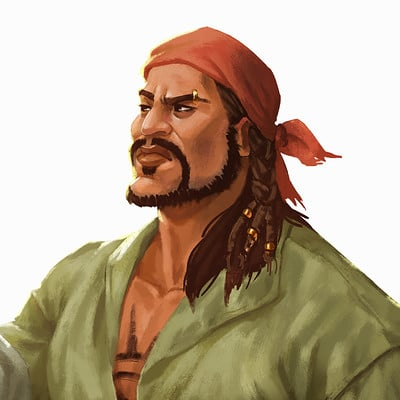 Gizelle karen baluso pirate artofgzel