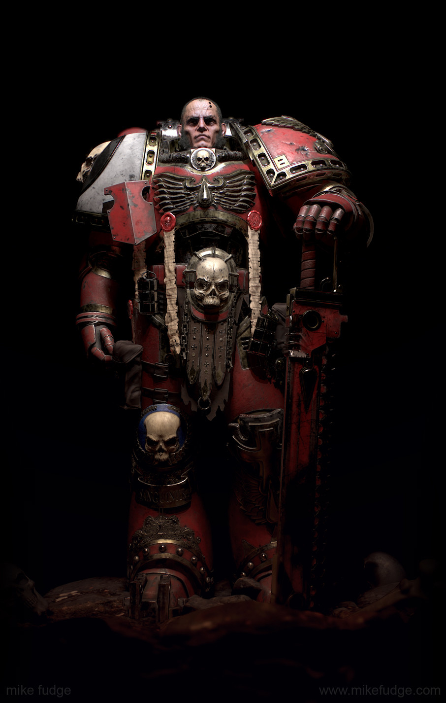 Mike fudge spacemarine dark