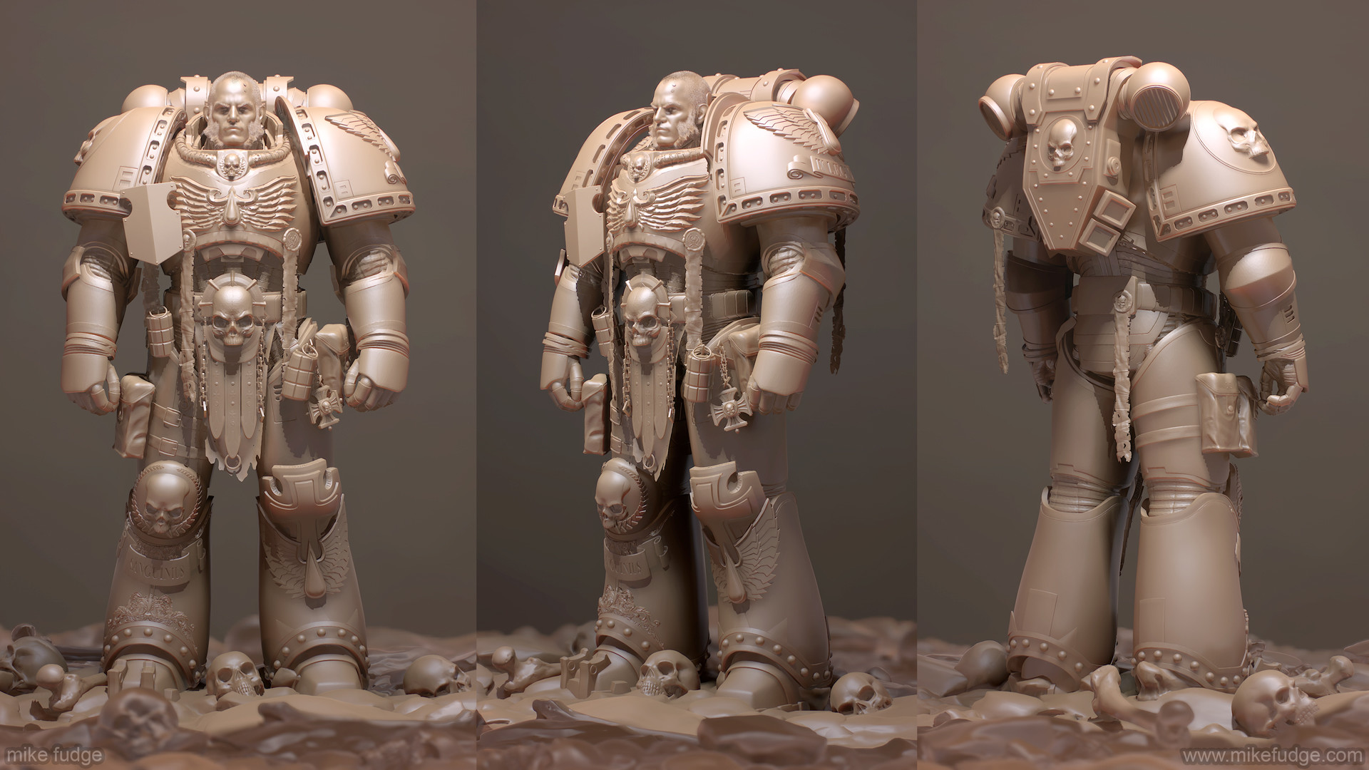 Mike fudge spacemarine gray