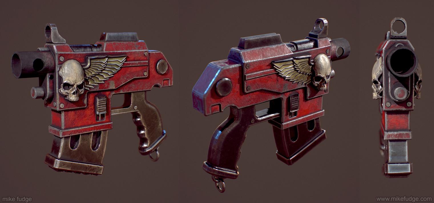 Mike fudge spacemarine gun