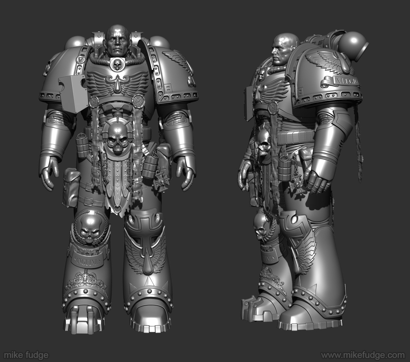 Mike fudge spacemarine zbrush