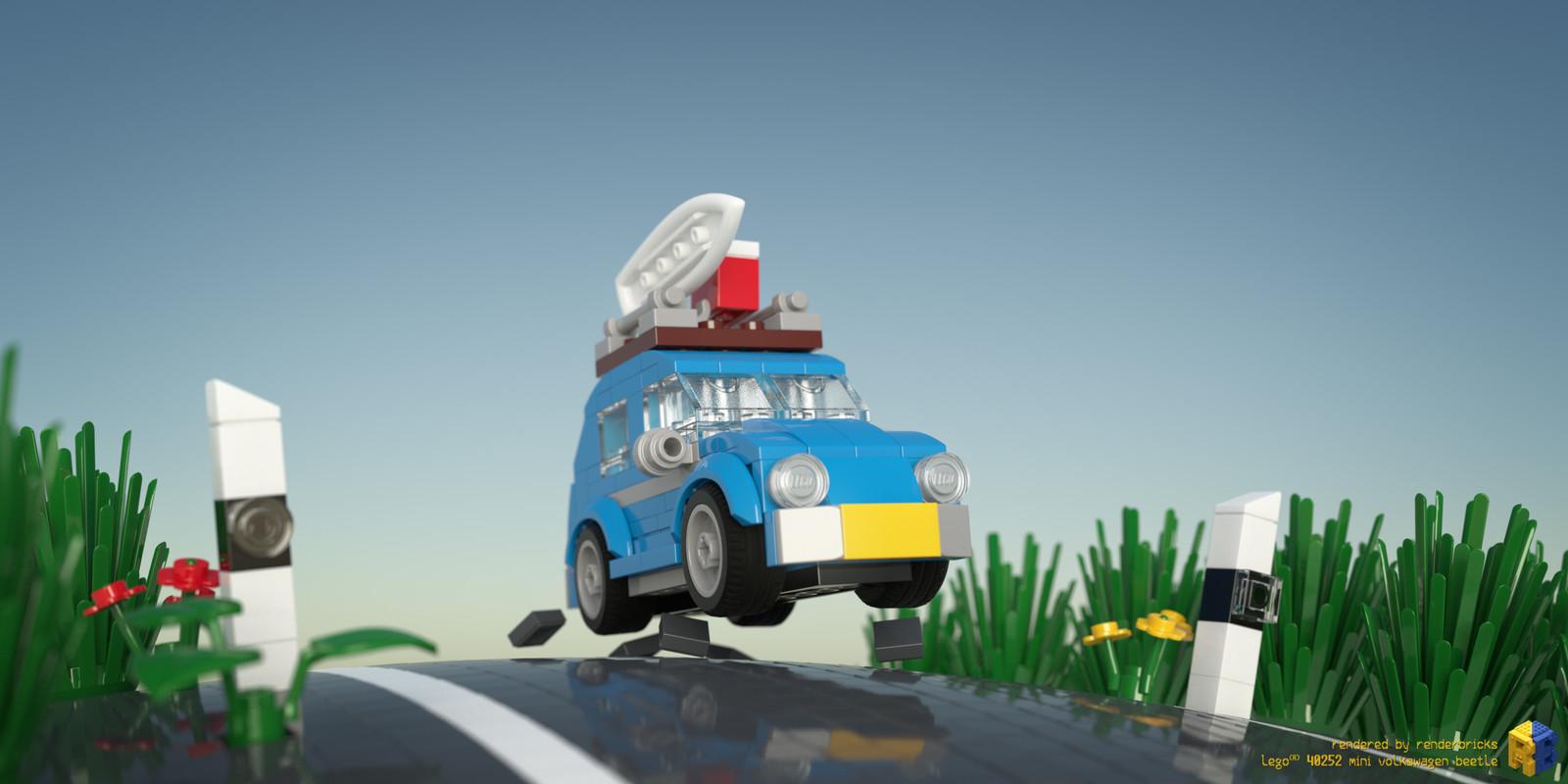 LEGO Bau- & Konstruktionsspielzeug Lego 40252 VW Mini Beetle Creator