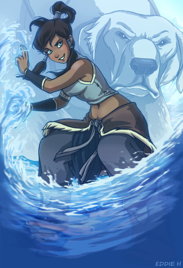 Eddie holly korra avatar
