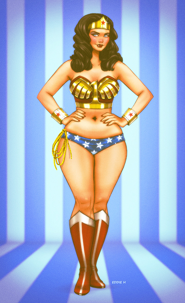 Eddie holly wonder woman