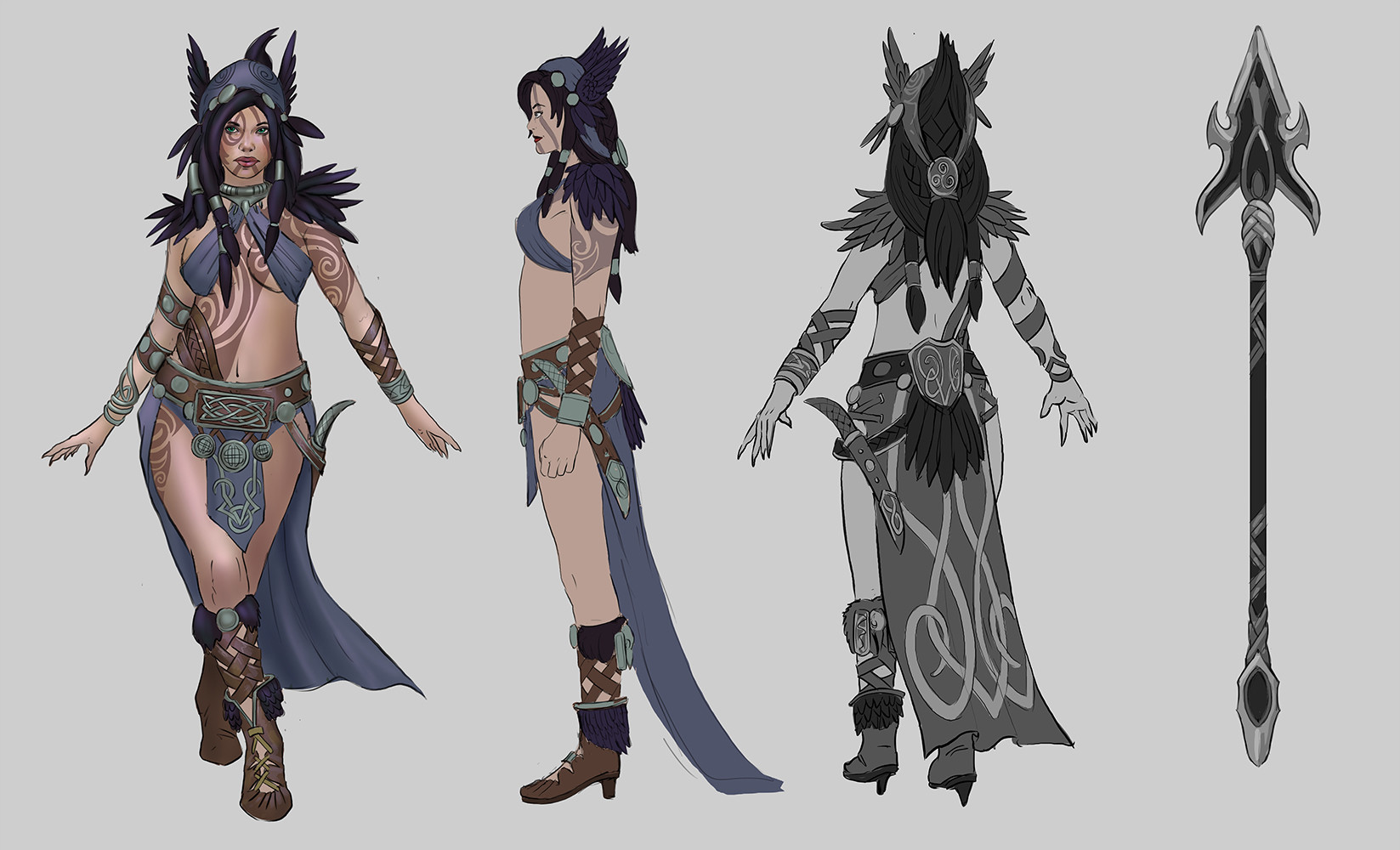 Andy Timm Smite Morrigan Concept