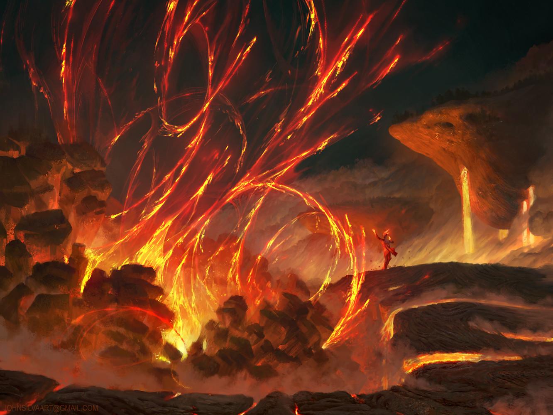 John silva flame eruption john silva