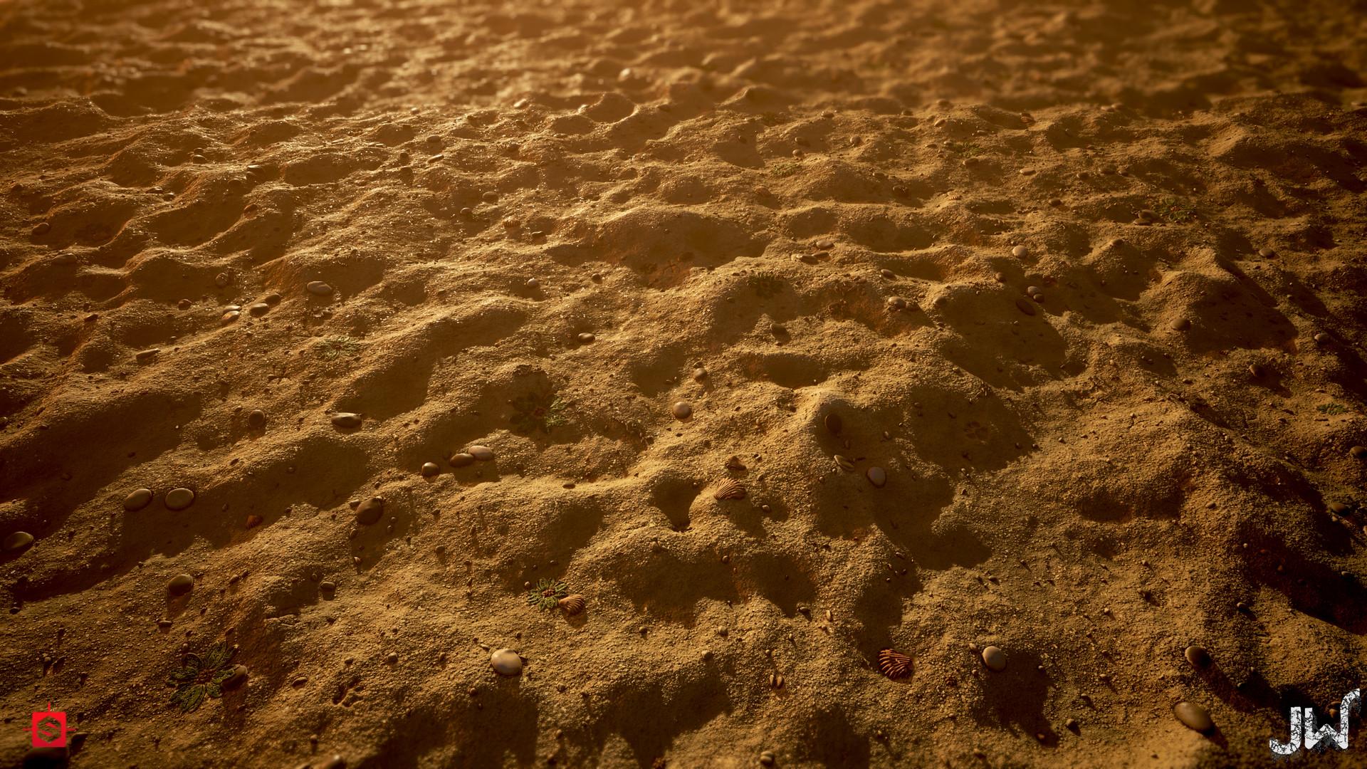 James watson beachsand materialstudy jimwatson second