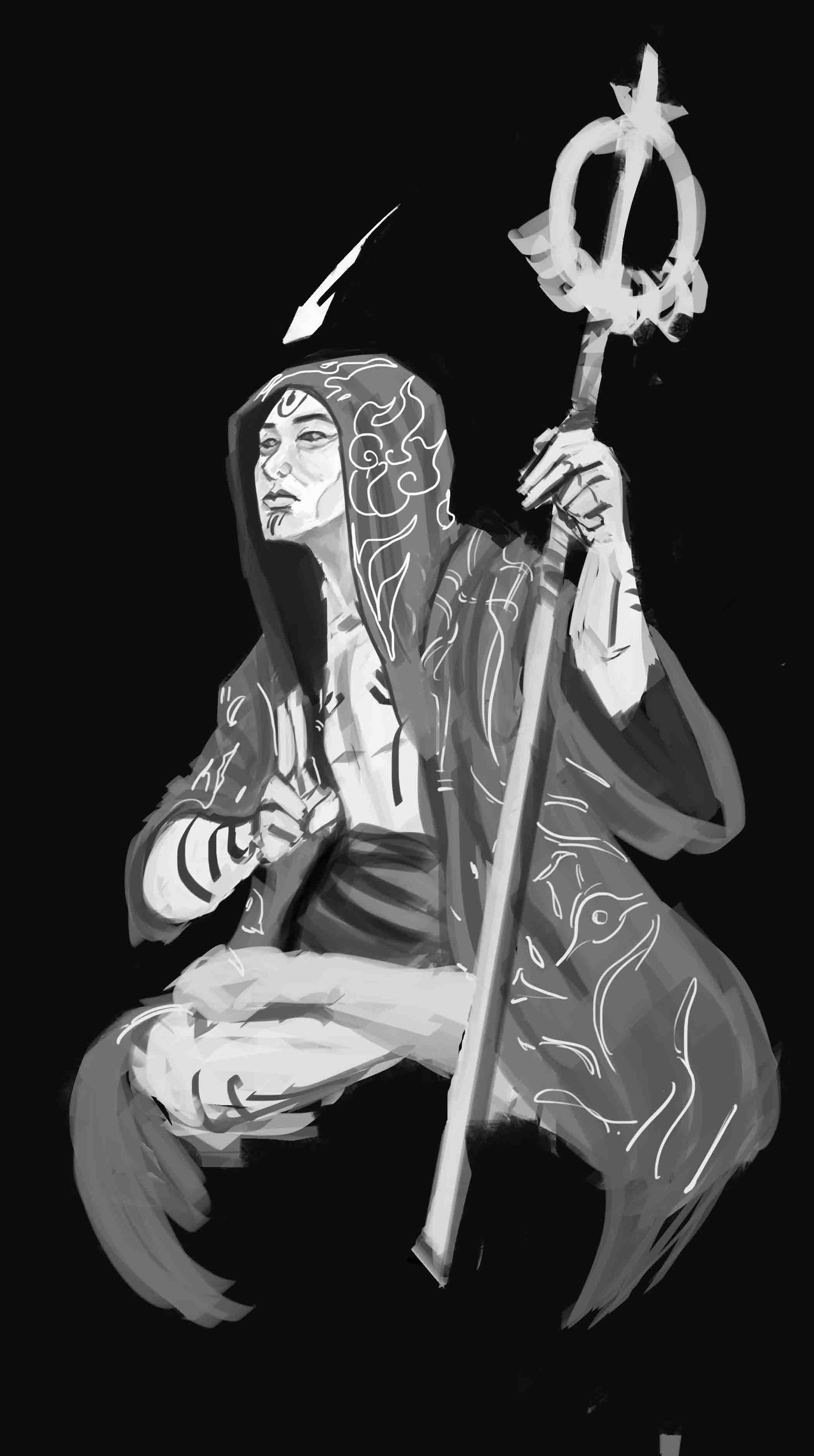 Dylan briones the hierophant hooded