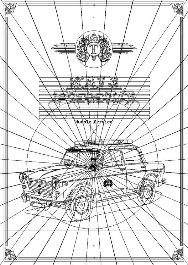 Rajesh sawant taxi wireframe