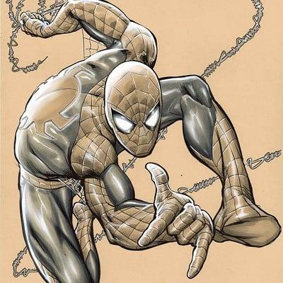 Marco santucci spider man 01