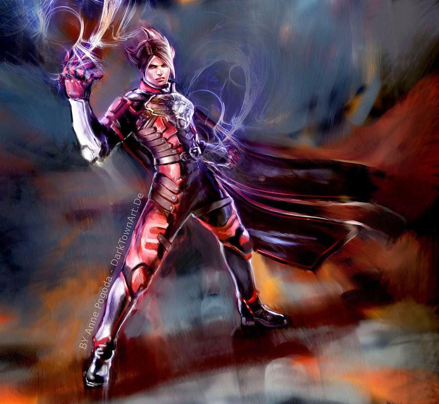 Lars from Tekken 6