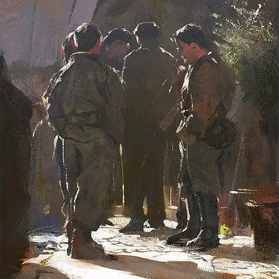 Grzegorz rutkowski soldiers study 1200