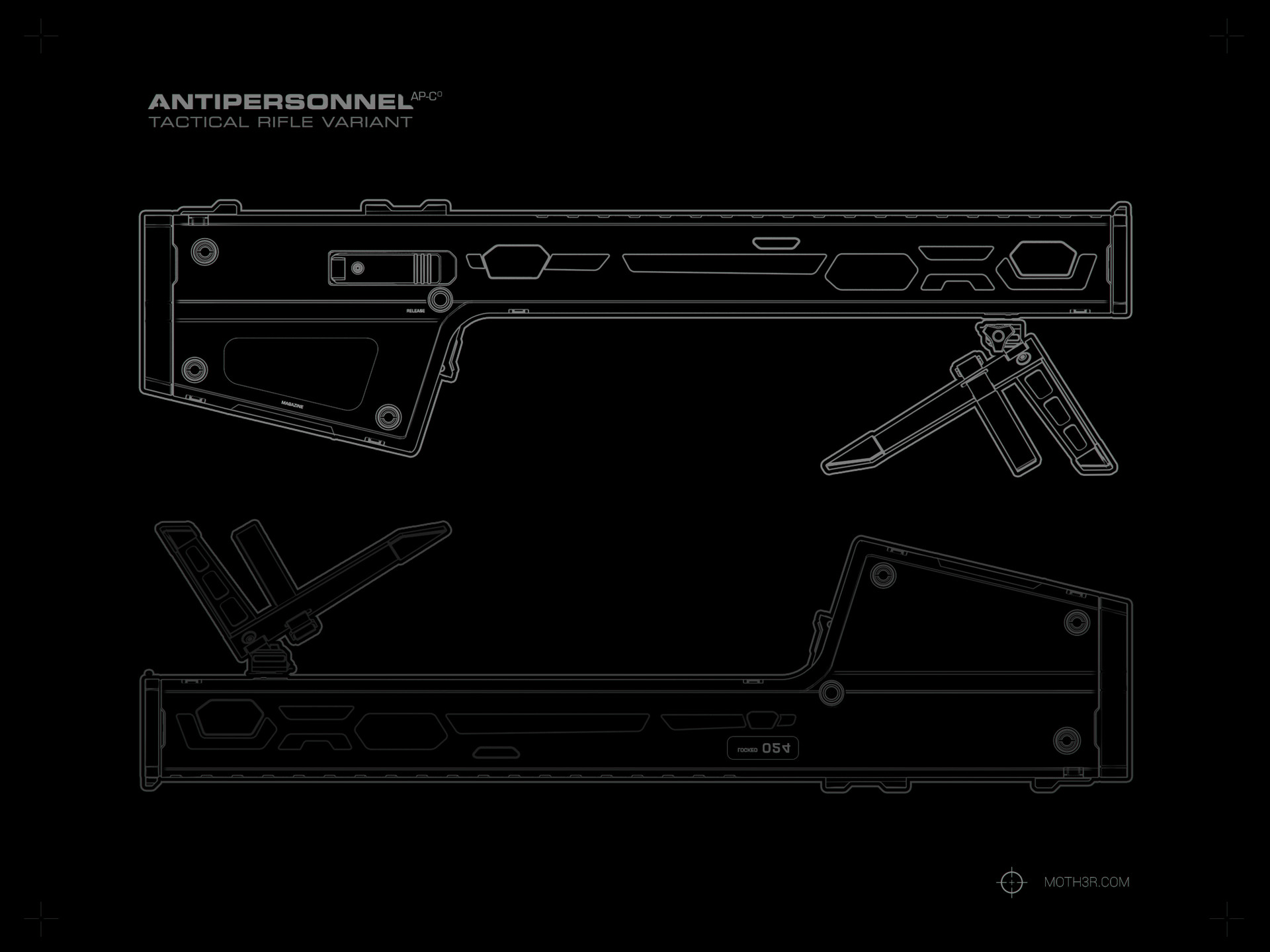 Ivan santic almost rifle blueprint b03 zero