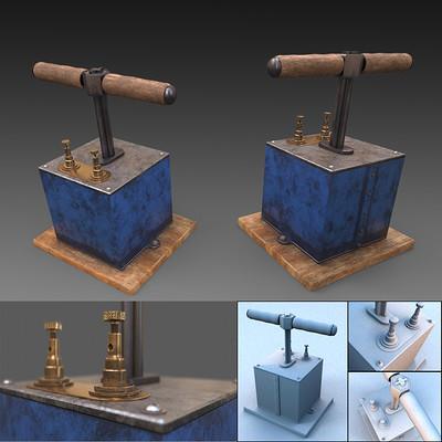Ezra szigetti detonator