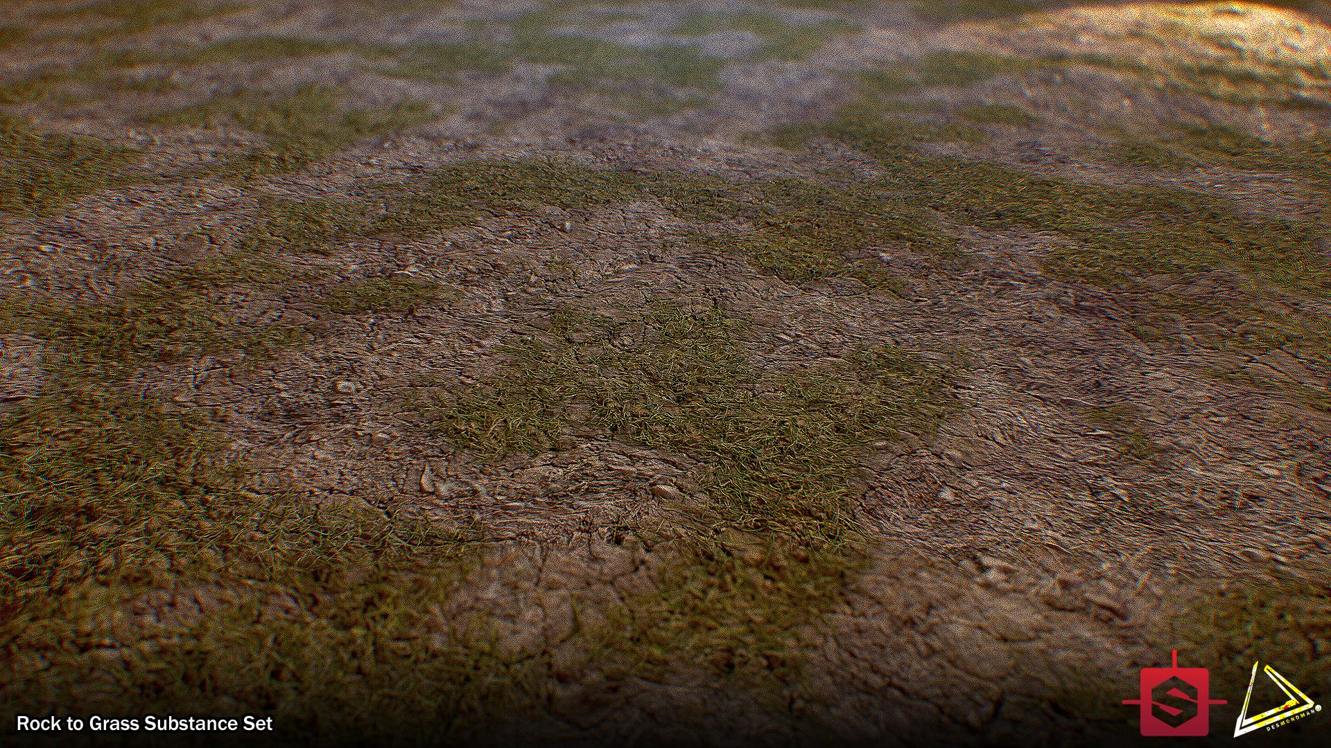 Desmond man rockygrass set terrain renders 03