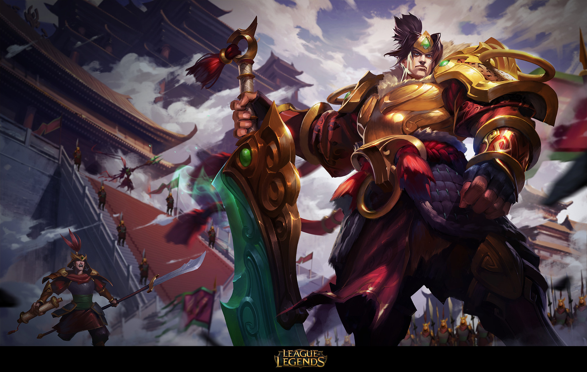 Artstation League Of Legends Garen Jojo So