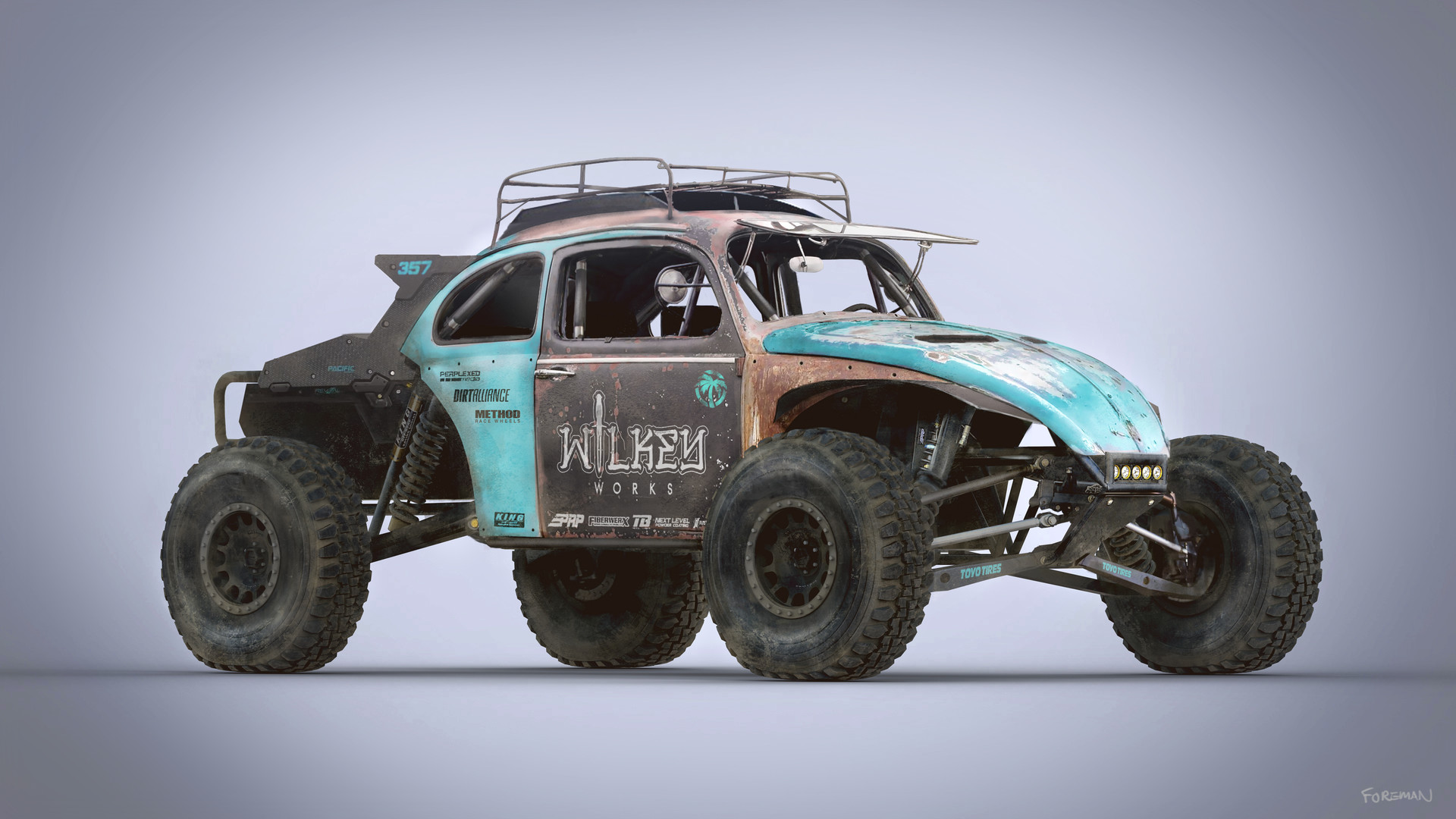 Artstation Baja Rat Bug Nick Foreman